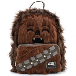 STAR WARS -  PETIT SAC À DOS EN FAUSSES FOURRURE- CHEWBACCA - STAR WARS -  LOUNGEFLY