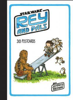 STAR WARS -  REY AND PALS: 30 POSTCARDS