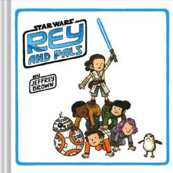 STAR WARS -  REY AND PALS