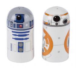 STAR WARS -  SALIERE ET POIVRIERE BB-8 ET R2-D2