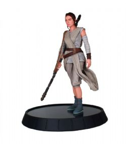 STAR WARS -  STATUE DE REY (27CM) -  FORCE AWAKENS MILESTONES COLLECTION!