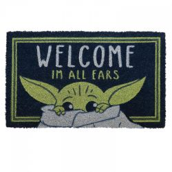 STAR WARS -  TAPIS DE PORTE - I'M ALL EARS 43 X 73CM -  LE MANDALORIEN