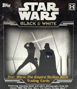 STAR WARS -  THE EMPIRE STRIKES BACK: BLACK & WHITE - 2019 TRADING CARDS (P8/B7)