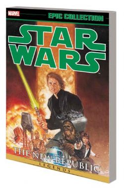 STAR WARS -  THE NEW REPUBLIC - DARK EMPIRE TP -  LEGENDS - EPIC COLLECTION 05