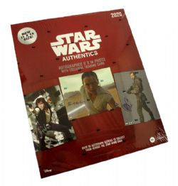 STAR WARS -  TOPPS AUTHENTICS AUTOGRAPHS HOBBY BOX 2020 (C12)