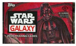 STAR WARS -  TOPPS GALAXY 2018 (P8/B24)