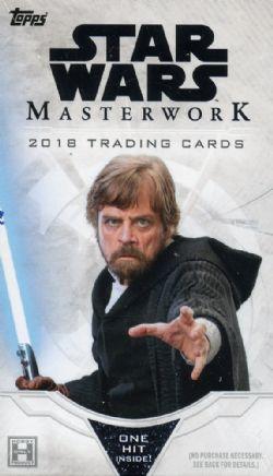 STAR WARS -  TOPPS MASTERWORK 2018 (P5/B4)