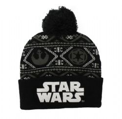 STAR WARS -  TUQUE À POMPOM