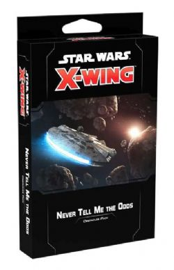 STAR WARS : X-WING 2.0 -  NEVER TELL ME THE ODDS - OBSTACLES PACK (ANGLAIS)
