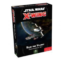 STAR WARS : X-WING -  ENSEMBLE RACAILLES ET SCÉLÉRATS - 3 EXTENSIONS (FRANÇAIS) -  1RE ÉDITION