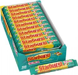 STARBURST -  FRUITS TROPICAL