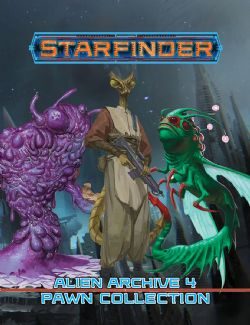 STARFINDER -  ALIEN ARCHIVE 4 PAWNS COLLECTION (ANGLAIS)