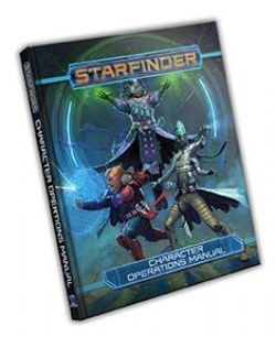 STARFINDER -  CHARACTER OPERATIONS MANUAL (ANGLAIS)