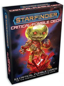 STARFINDER -  CRITICAL FUMBLE DECK (ANGLAIS)