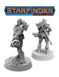 STARFINDER MINIATURES -  HALF-ORC SOLDIER