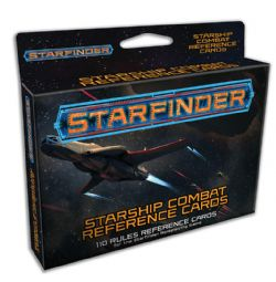 STARFINDER -  REFERENCE CARDS - STARSHIP COMBAT (ANGLAIS)