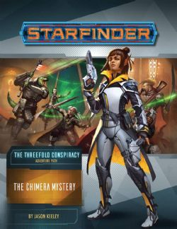 STARFINDER -  THE CHIMERA MYSTERY (ANGLAIS) -  THE THREEFOLD CONSPIRACY 1