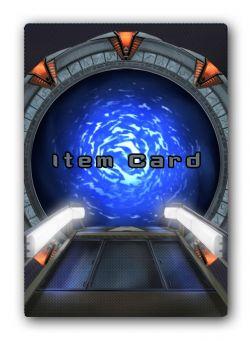 STARGATE SG-1 -  ITEM CARDS (ANGLAIS)