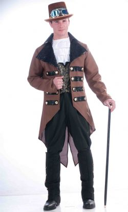 STEAMPUNK -  COSTUME DE JACK (ADULTE - TAILLE UNIQUE)