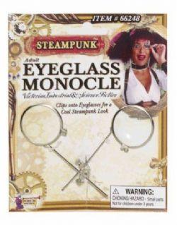 STEAMPUNK -  MONOCLE DE LUNETTES