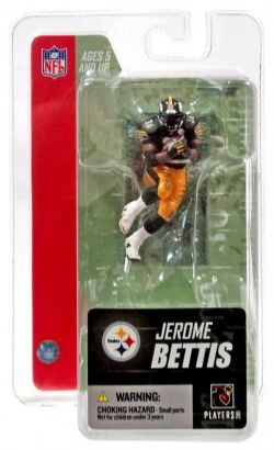 STEELERS DE PITTSBURGH -  FIGURINE DE JEROME BETTIS (12 CM) 36