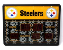 STEELERS DE PITTSBURGH -  HORLOGE