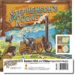 STEPHENSON'S ROCKET -  EASTERN USA AND CHINA (ANGLAIS)