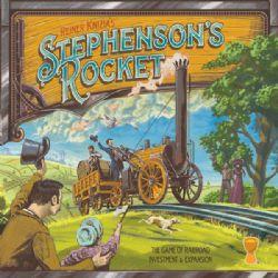 STEPHENSON'S ROCKET -  JEU DE BASE (ANGLAIS)