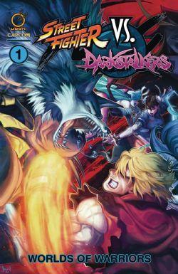 STREET FIGHTER VS DARKSTALKERS -  WORLDS OF WARRIORS TP 01