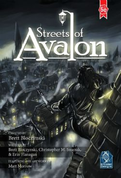 STREETS OF AVALON (ANGLAIS) -  5E