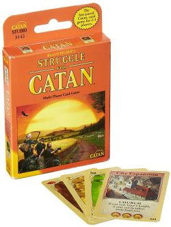 STRUGGLE FOR CATAN -  JEU DE BASE (ANGLAIS) -  2E ÉDITION