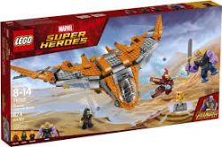 SUPER HEROES -  THANOS : ULTIME COMBAT (674 PIÈCES) 76107