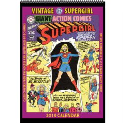SUPERGIRL -  CALENDRIER ANCIEN 2019