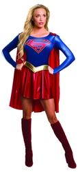 SUPERGIRL -  COSTUME DE SUPERGIRL (ADULTE)
