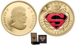 SUPERMAN -  CÉLÈBRES COUVERTURES DE SUPERMAN : THE ADVENTURES OF SUPERMAN #596 -  PIÈCES DU CANADA 2014