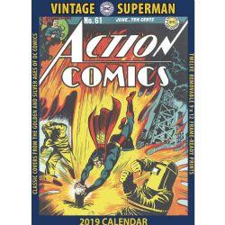 SUPERMAN -  CALENDRIER ANCIEN 2019