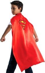 SUPERMAN -  CAPE DELUXE DE SUPERMAN AVEC LOGO BRODE POUR ENFANT