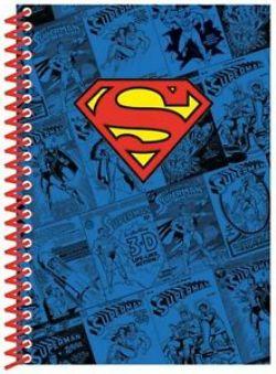 SUPERMAN -  CARNET À SPIRALES