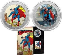 SUPERMAN -  D'HIER À AUJOURD'HUI - 75EME ANNIVERSAIRE DE SUPERMAN -  PIÈCES DU CANADA 2013
