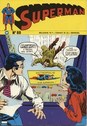 SUPERMAN -  SUPERMAN ET BATMAN (3E SÉRIE) 1975 89