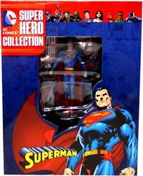 SUPERMAN -  SUPERMAN (LIVRE ET FIGURINE) -  SUPER HERO COLLECTION 02
