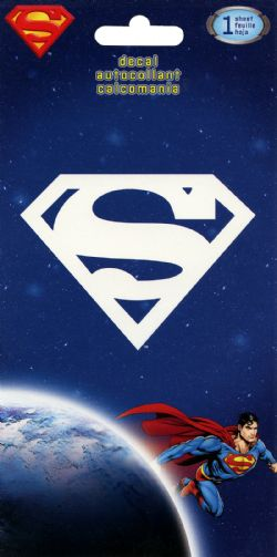 SUPERMAN -  SUPERMAN LOGO - AUTOCOLLANT