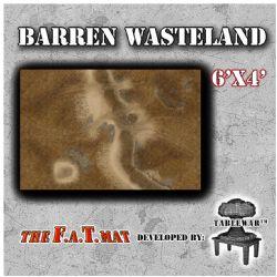 SURFACE DE JEU -  F.A.T. MAT - BARREN WASTELAND (6'X4')