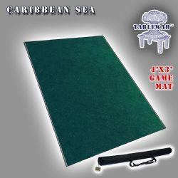 SURFACE DE JEU -  FAT MATS - CARIBBEAN SEA (4' X 3')