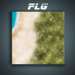 SURFACE DE JEU -  FLG MATS - ISLAND (4'X4')