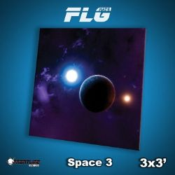 SURFACE DE JEU -  FLG MATS - SPACE 3 (3'X3')