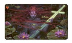 SURFACE DE JEU -  MTG THRONE OF ELDRAINE - EMRY, LURKER OF THE LOCH PLAYMAT (60 X 33 CM)