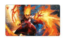 SURFACE DE JEU -  MTG WAR OF THE SPARK - CHANDRA, FIRE ARTISAN PLAYMAT (60 X 33 CM) -  ART JAPONNAIS