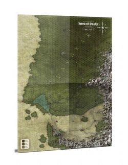 SYMBAROUM -  SYMBAR & DAVOKAR HEXAGON MAP