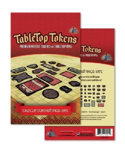 TABLETOP TOKENS -  CASTLE FURNISHING SET